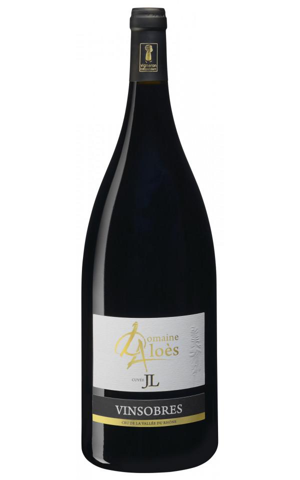 """Vinsobres """"JL"""" - Magnum - Rouge - Aloès - BIO - 2013"""