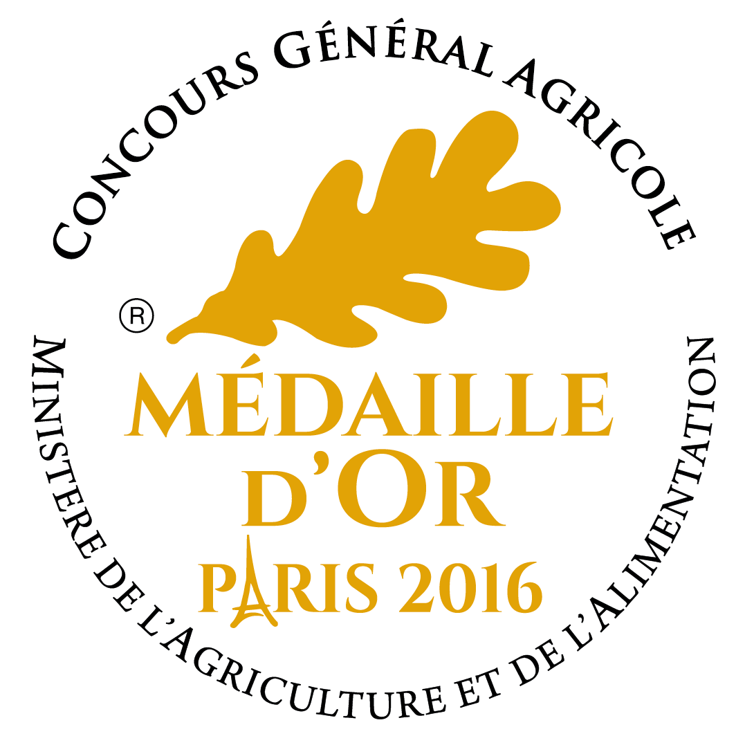 Médaille d'Or Paris 2016